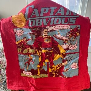 Graphic T- Shirt - Captain Obvious